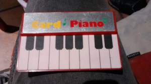 Card Piano